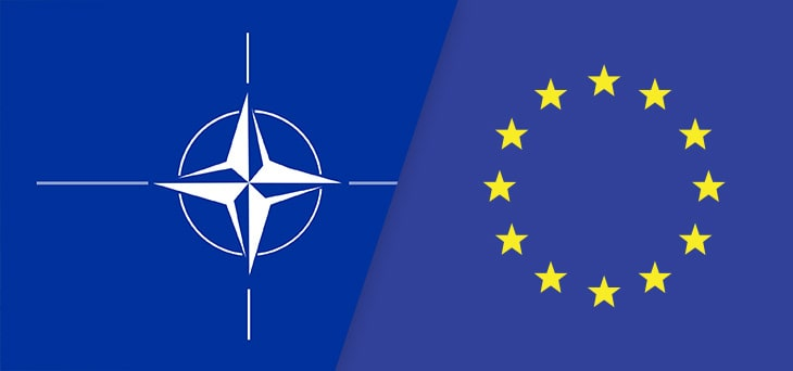 Strategies and Actions of NATO and the EU